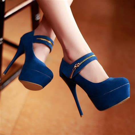 the best high heels fashion closed toe zipper design stiletto high heels
