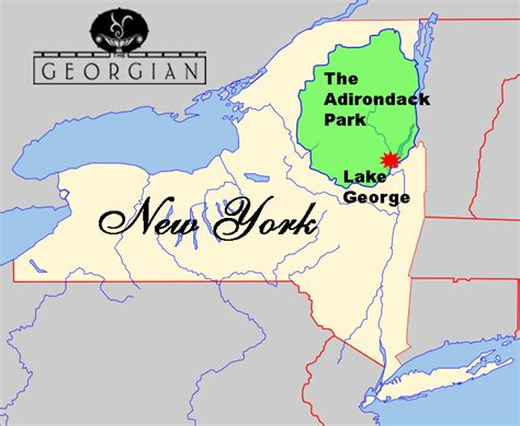 greater than a tourist â lake george area new york usa 50 travel tips from a local books lake george new york map