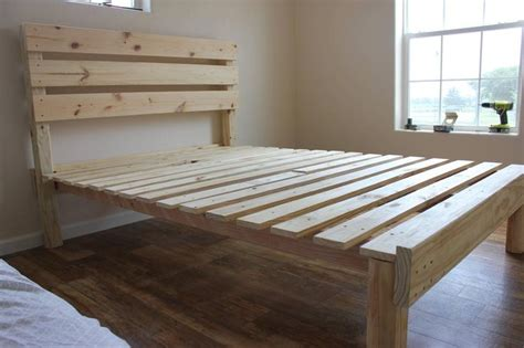 homemade bed frames pinterest discover and save creative ideas