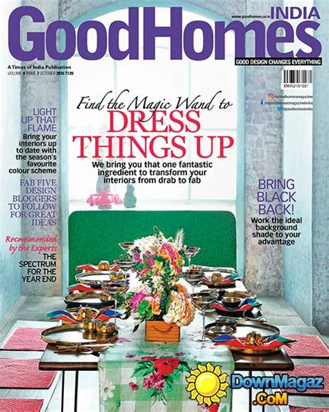 good home design magazines goodhomes in october 2016 187 download pdf magazines