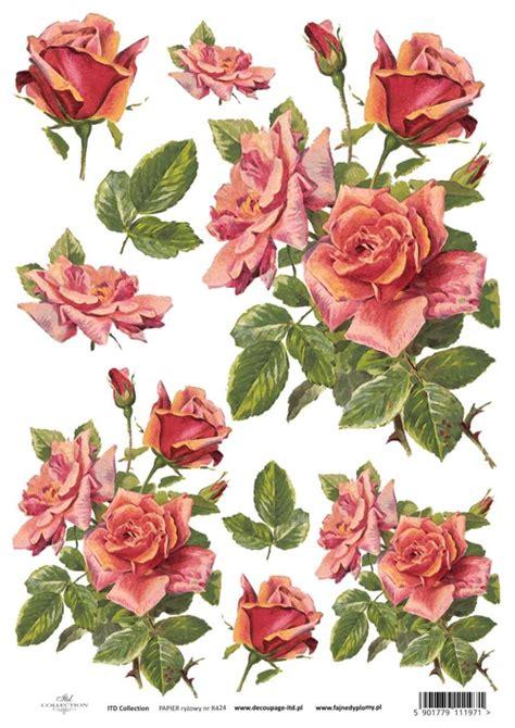 Floral Decoupage Paper - galeria decoupage flowers