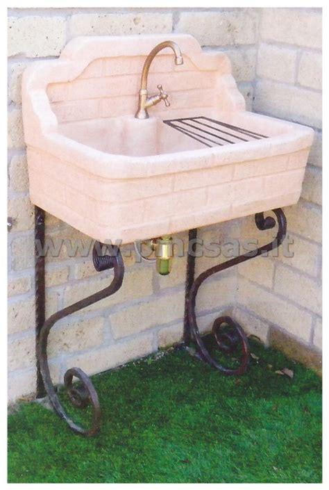 lavelli da terrazzo lavandini da esterno pmc prefabbricati e arredo giardino