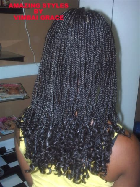 how to curl ends of box braids on natural hair long box braids with curled ends this is a great