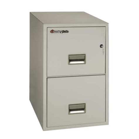 sentry 2t3131 2 drawer letter file cabinet with