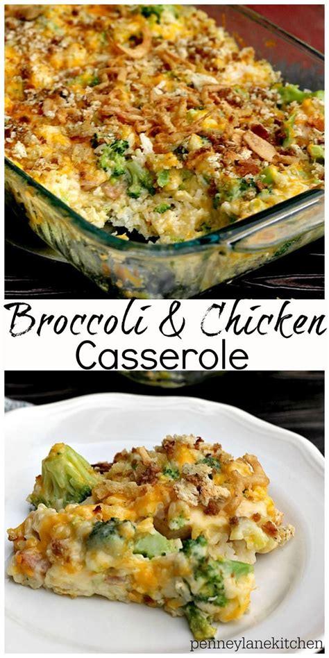 comfort casseroles chicken and broccoli casserole recipe comfort foods