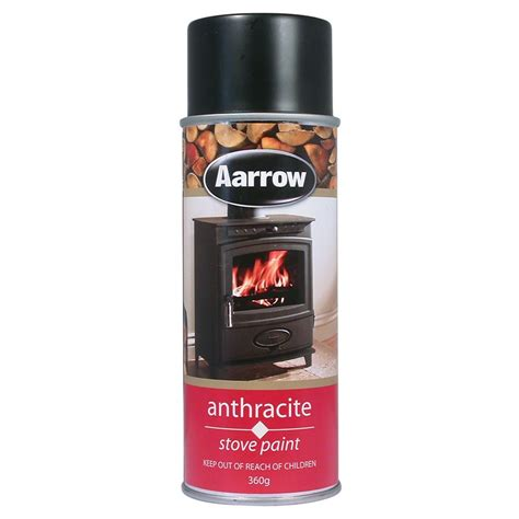 aarow anthracite stove paint products consumables