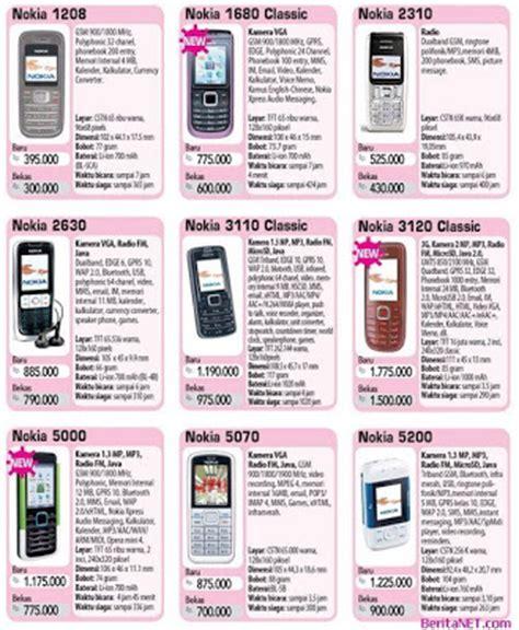 Daftar Hp Senter Murah daftar jual beli harga murah daftar harga hp handphone ponsel nokia