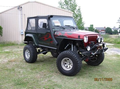 Jeep Tj Custom 1998 Jeep Tj 9 500 Possible Trade 100192011