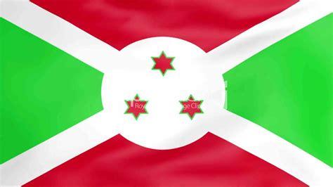 flag  burundi royalty  video  stock footage