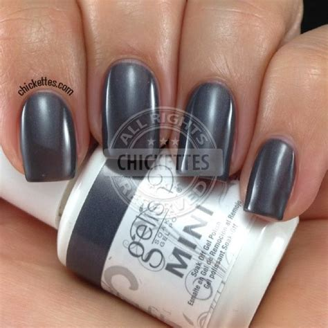 Manicure Johnny Andrean gelish mini never grey dear johnny green