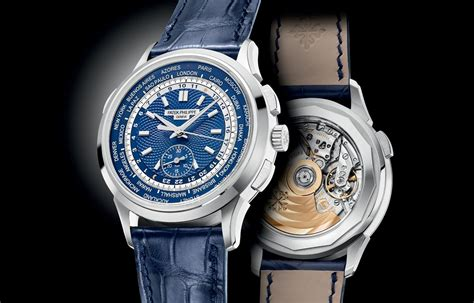 Patex Philippe patek philippe world time chronograph ref 5930 time