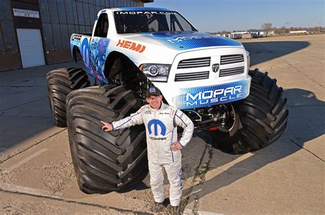 monster truck racing uk ram based mopar muscle coming to the 2014 monster truck