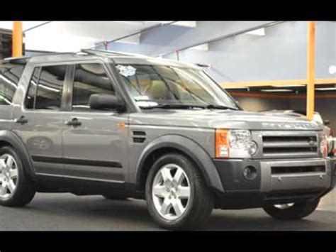 2007 land rover lr3 v8 hse navi heated seats 1 own 57k 3rd
