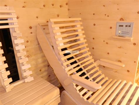 Sauna Infrarotkabine by Sauna Und Infrarotkabinen