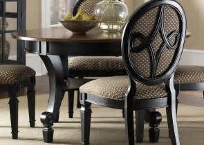 Dining Room Table Black by Black Dining Room Table With Leaf Round Black Dining Room