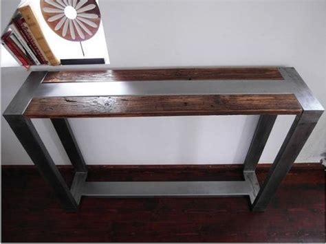 Handmade Industrial Furniture - best 25 wood steel ideas on welding projects