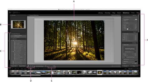 How To Create Slideshows In Lightroom Classic Cc Lightroom Slideshow Templates Free