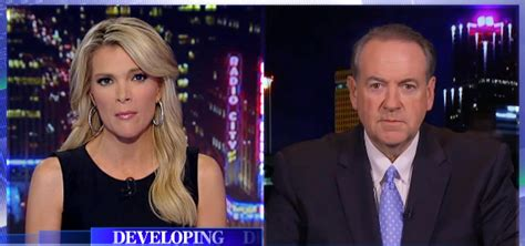 megyn kelly introduces mike huckabee with an f bomb did you go too far megyn kelly questions mike huckabee
