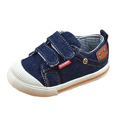 Sneakers Denim shoes for boys sneakers canvas children shoes denim running sport baby sneakers
