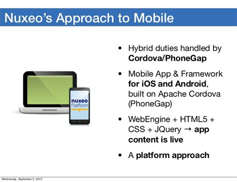 when to take a hybrid approach for mobile app development mobile and desktop synchronization in nuxeo platform 5 6