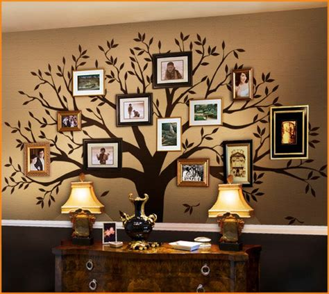 Family Tree Decoration by Family Tree Wall Decoration Metal Home Design Ideas