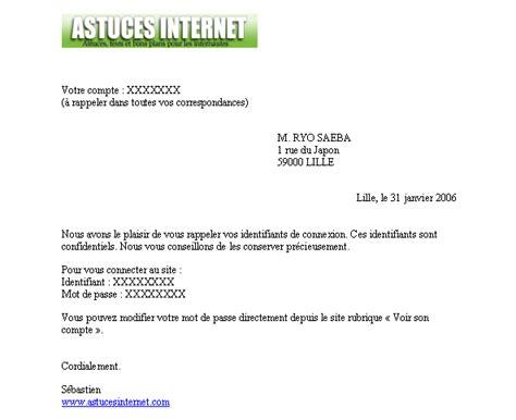 Exemple De Lettre Type Pour Publipostage Publipostage
