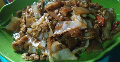 resep mie tiaw goreng enak  sederhana cookpad
