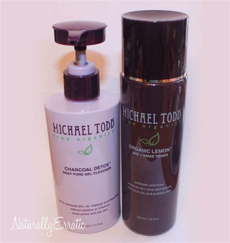 Michael Todd Charcoal Detox Reviews by Skincare Review Michael Todd True Organics Paperblog