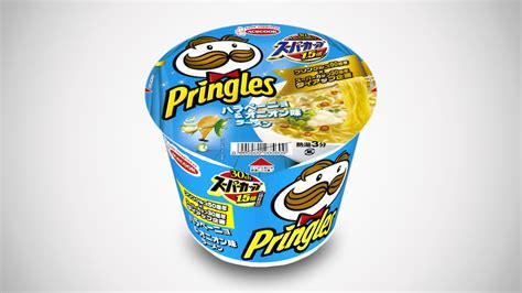jepun hasilkan mee segera berperisa snek kentang pringles