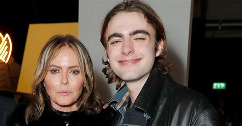 patsy kensits son lennon  spitting image   famous father liam gallagher mirror