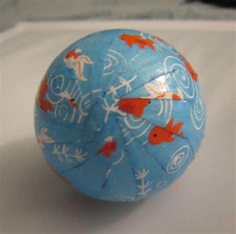 washi paper ornament koi fish washi bottom