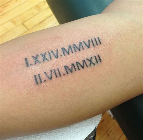 birthday tattoo designs 17 awesome numeral tattoos designs sheideas