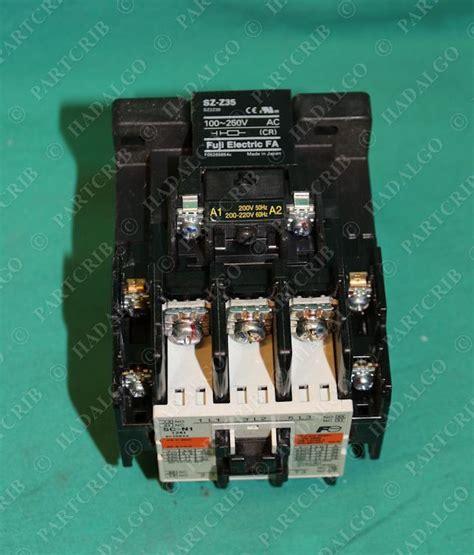 Contactor Fuji Sc N1 fuji electric 3nc0t sc n1 sc25baa sz z35 contactor