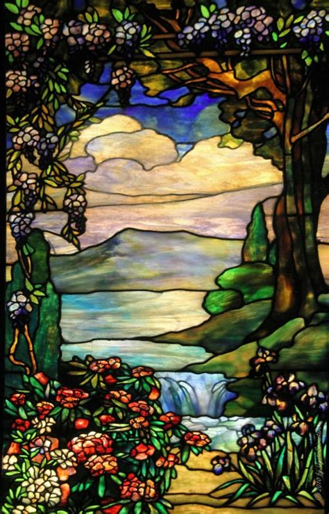 louis comfort tiffany stained glass windows chicago architecture cityscape smith museum tiffany