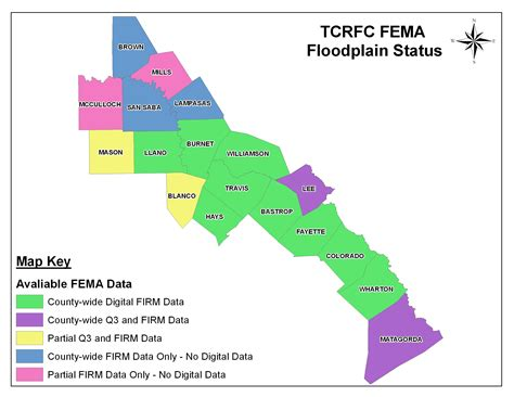 fema flood maps texas tcrfc fema status map tcrfc org