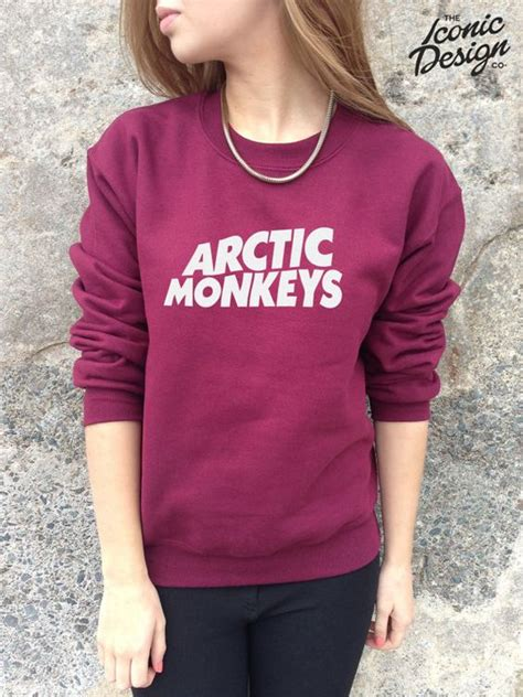 Sweater Arctic Monkeys 3 Arctic Monkeys Jumper Sweater Top Band Rock