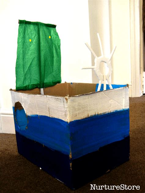 how to make a paper boat box be a sailor make a boat
