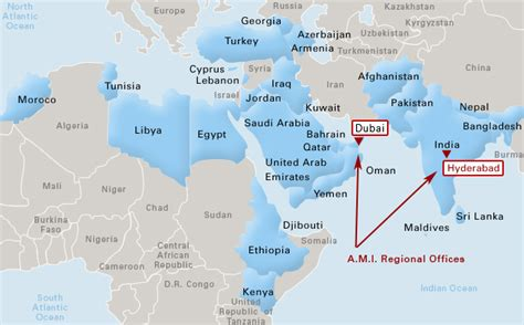 middle east map djibouti a m i foodservice equipment solutions middle east