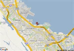 map of garden inn san francisco airport burlingame