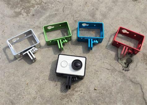 Aluminum Protective Casing Cover Pelindung Xiaomi Yi Cnc 1 xiaomi yi accessories xiaomi yi band accessories cnc aluminum protective