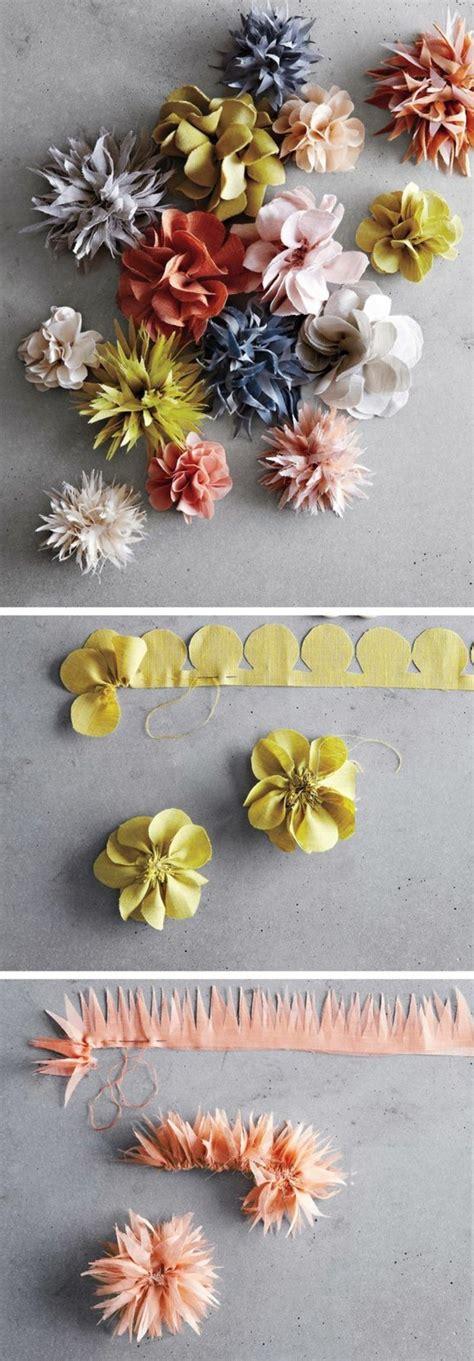 Fleur En Tissu A Faire Soi Meme by 1001 Id 233 Es Comment Faire Des Fleurs En Tissu Impressionnantes