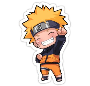 Home Decor Bg Quot Naruto Chibi Quot Stickers By Jacknorris4 Redbubble