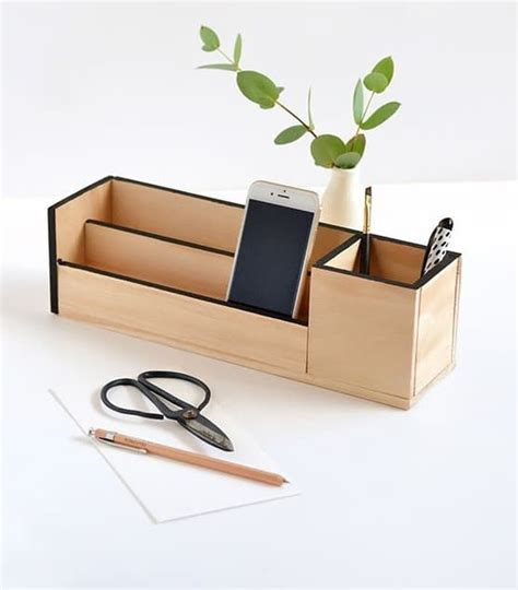 Diy Desk Organizer To Keep Your Workspace Organized Stylish Desk Organizers