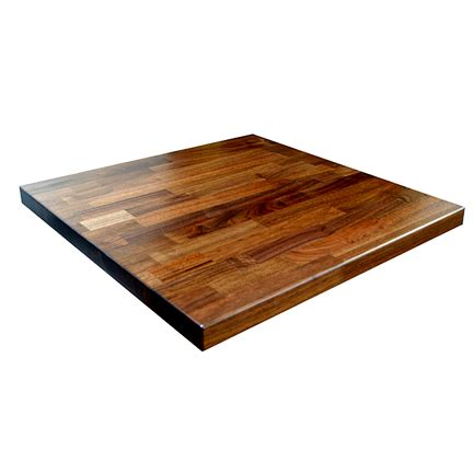 black walnut table top solid walnut table top restaurant cafe supplies