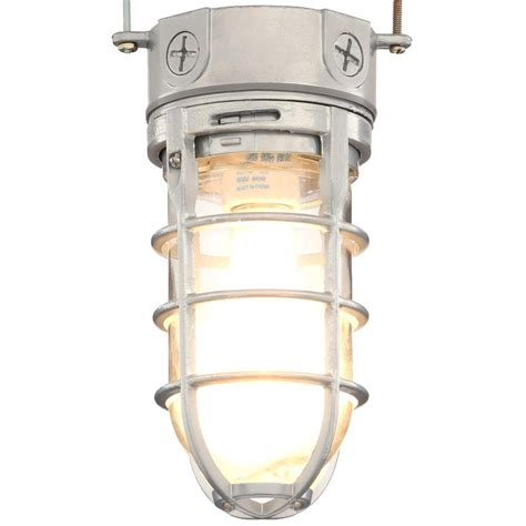 Vapor Tight Light Fixtures Lithonia Lighting Pewter Incandescent Outdoor Flushmount Vapor Tight Light Fixture Ovt 150i 120