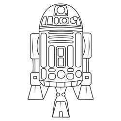 free r2d2 how to draw coloring pages