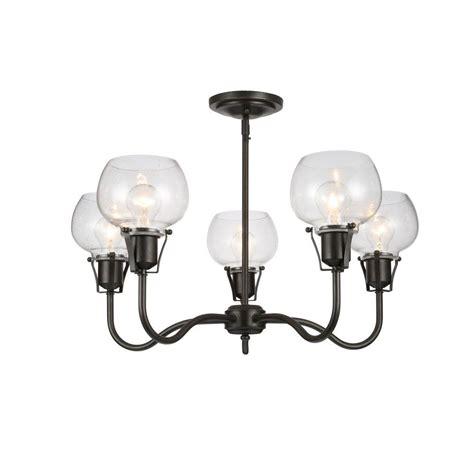 home depot rustic lighting feiss urban renewal 5 light rustic iron chandelier f2824