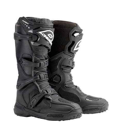 black dirt bike boots o neal black element mens dirt bike boots 2017 atv mx bmx mtb