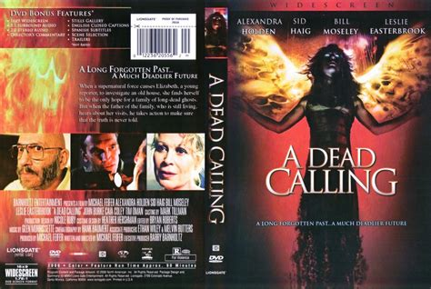 Dead Calling a dead calling dvd scanned covers 949a dead