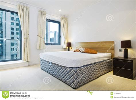 double king size bed modern double bedroom with king size bed royalty free